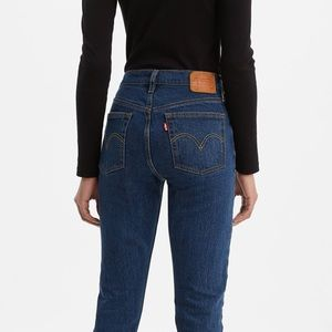 NWT Authentic Levi's 501 High Waisted Skinny Jeans